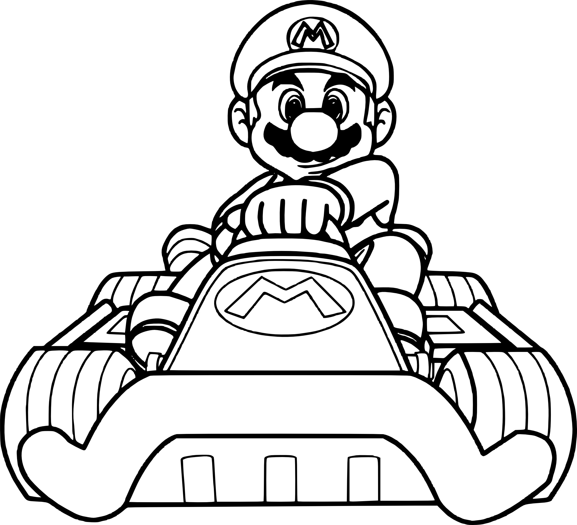 coloriage de mario kart imprimer sur coloriage de com. Black Bedroom Furniture Sets. Home Design Ideas