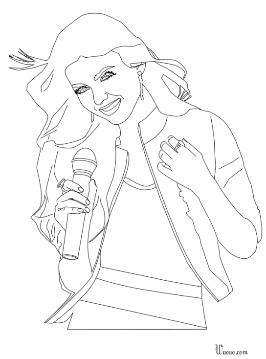 Coloriage de Victorious