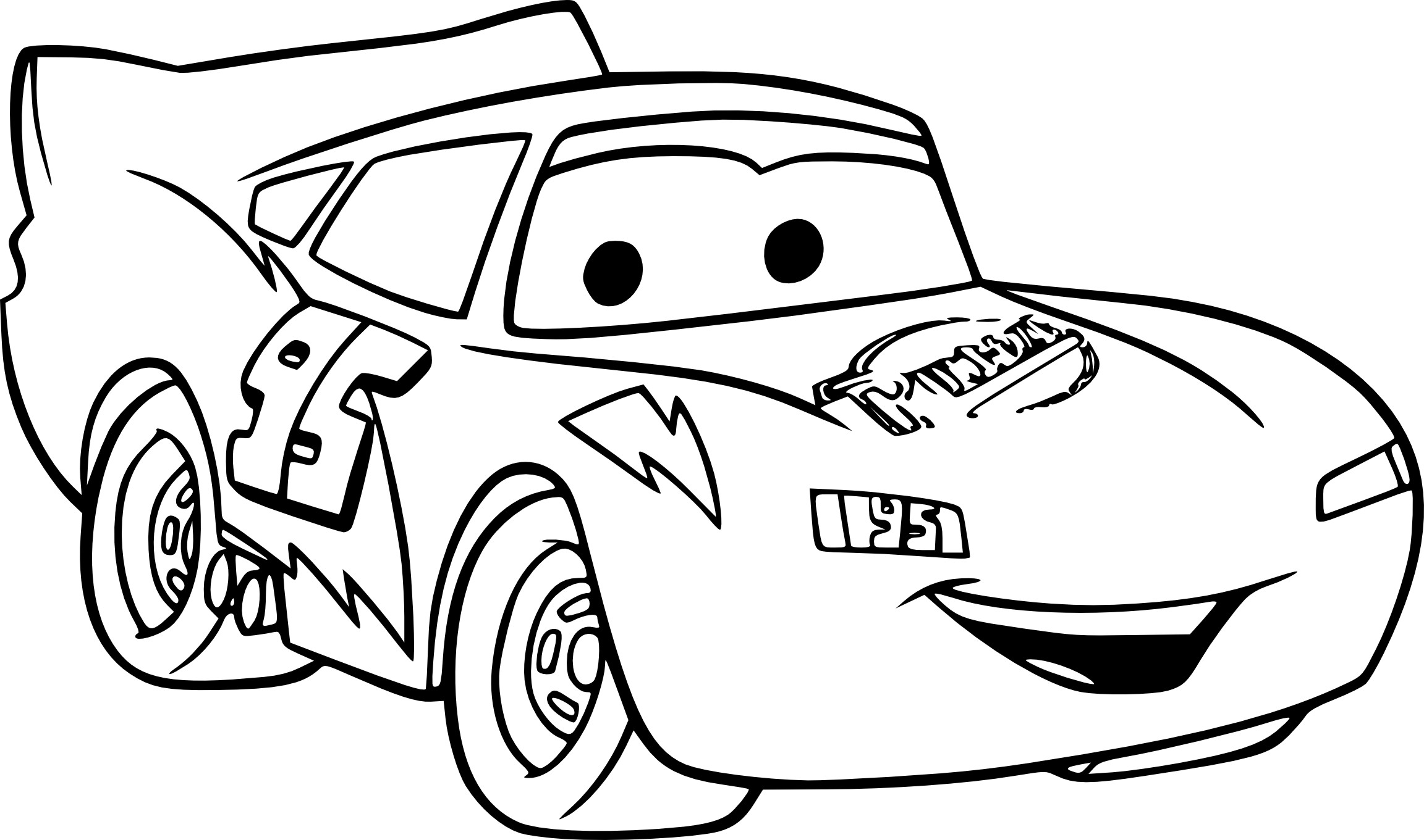 coloriage de cars 1