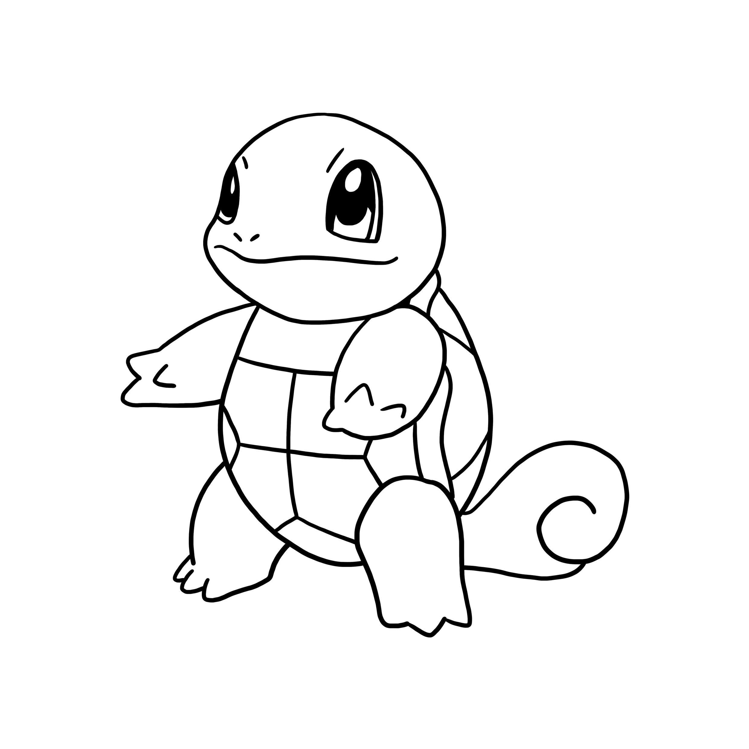 mega pokemon coloring page