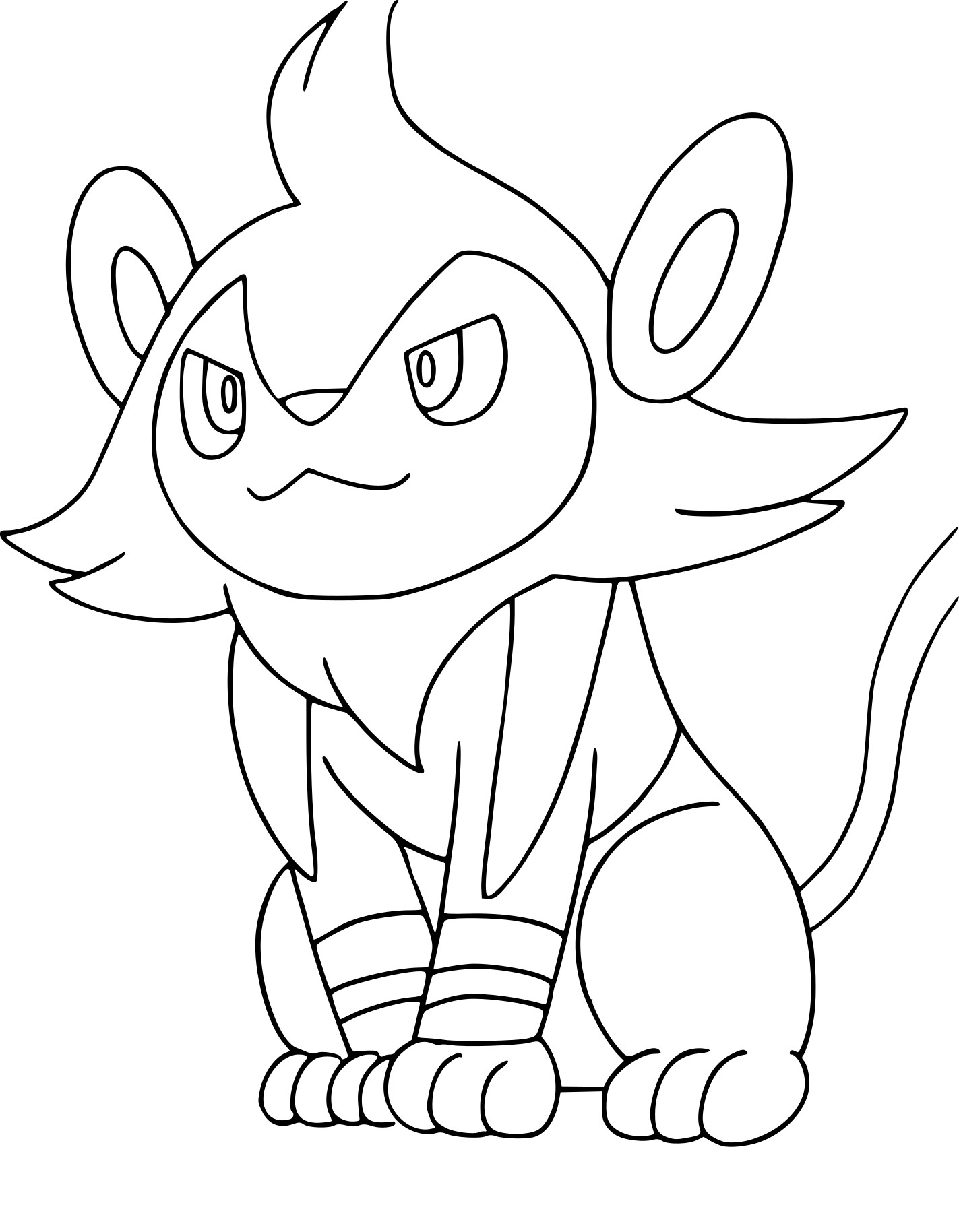riolu pokemon coloring pages - photo#25