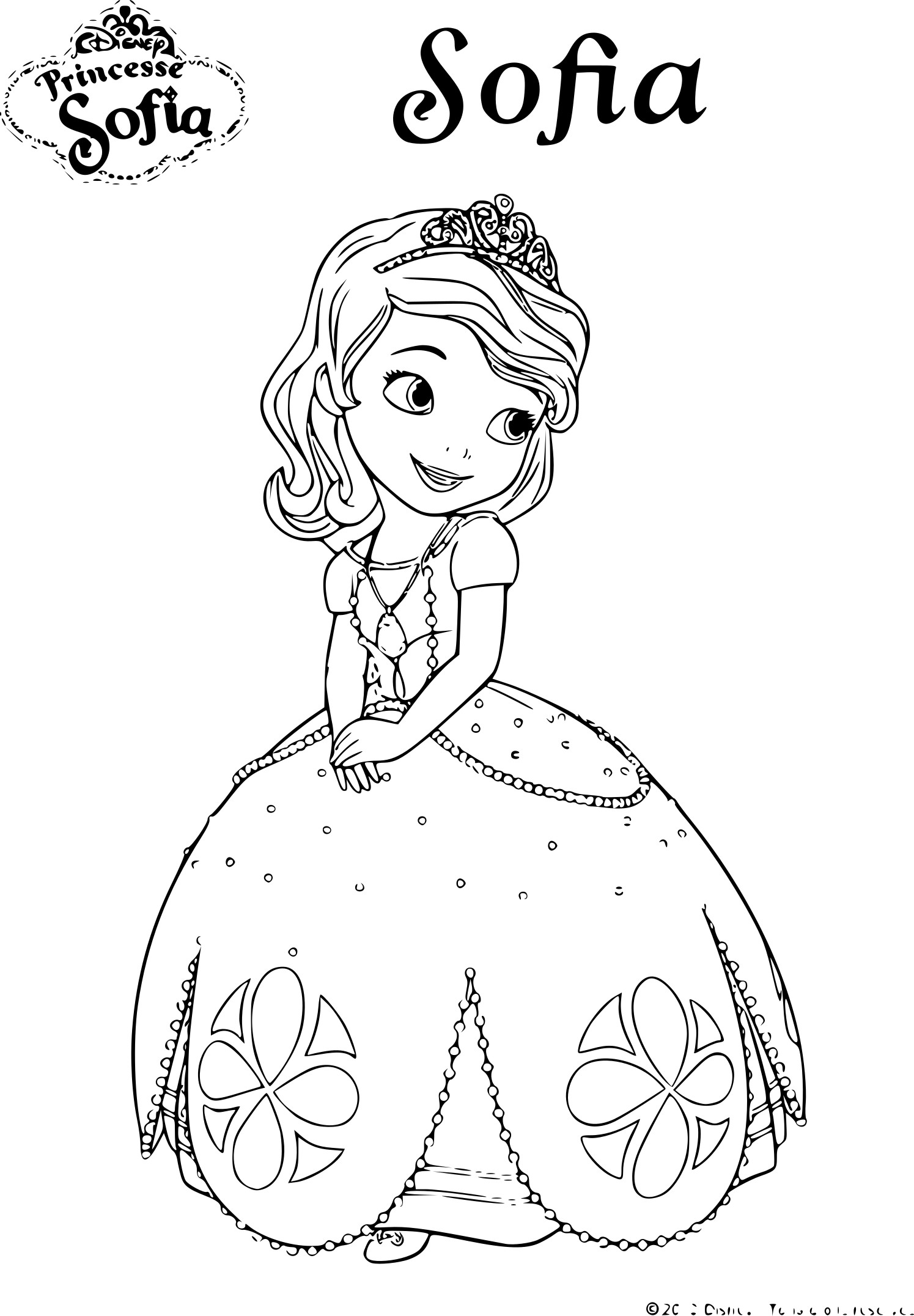 The gallery for disney prince and princesses - Coloriage a imprimer disney ...